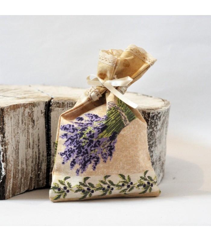 Vrecko na mydlo levanduľové