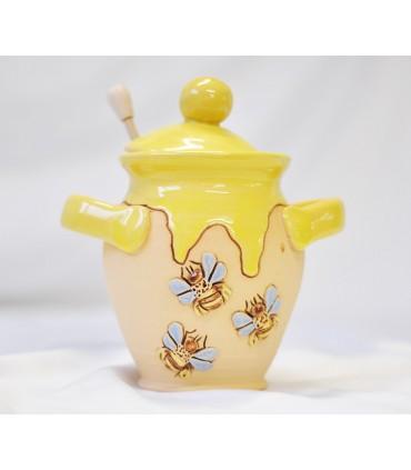 Nádoba na med - žltá