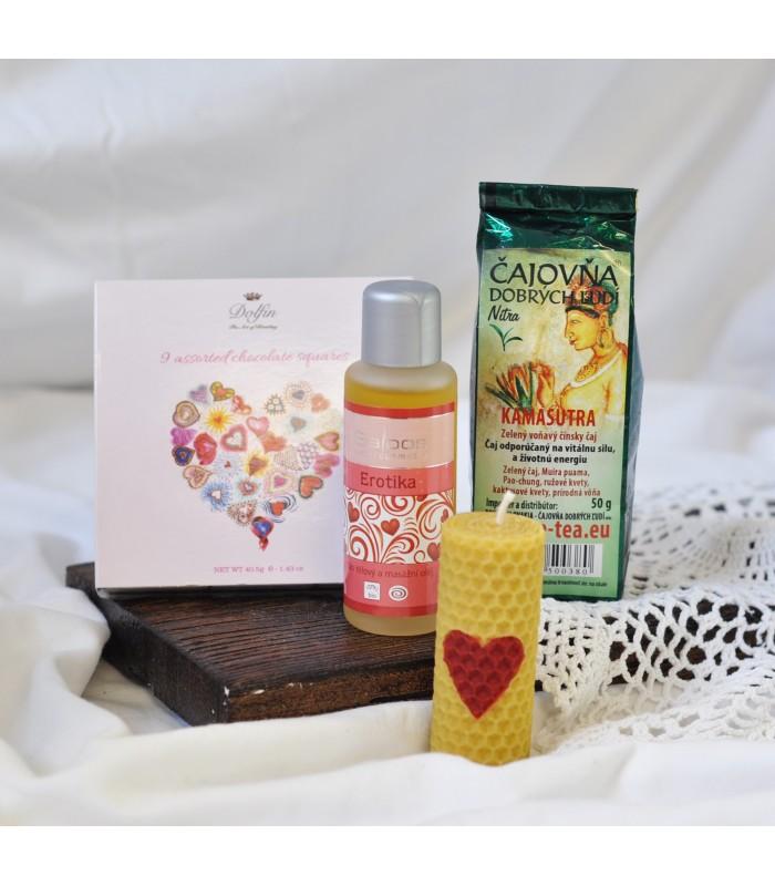 Valentínsky balíček MILUJEM ŤA