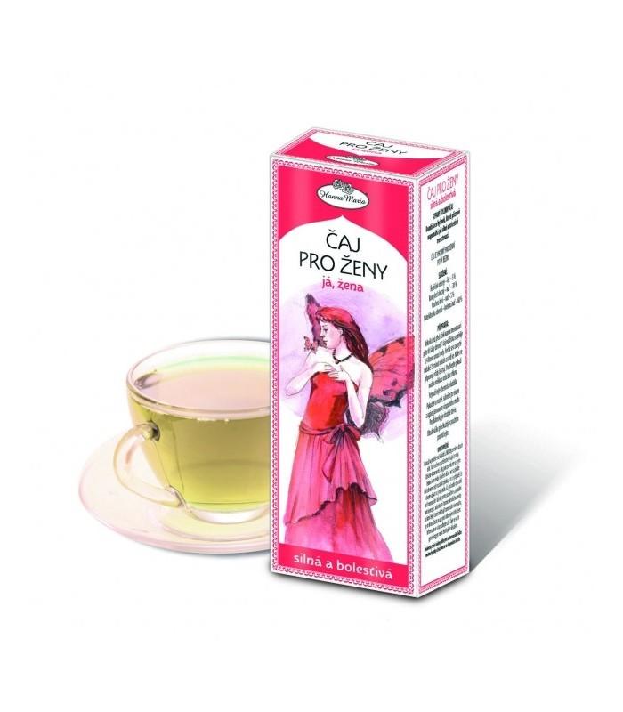 Čaj pre ženy - Silná a bolestivá