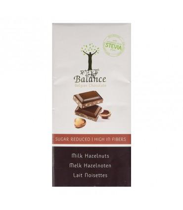Mliečna čokoláda s orieškami a stéviou