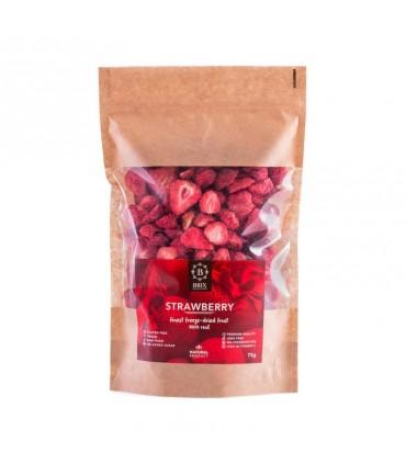 Mrazom sušené jahody Brix