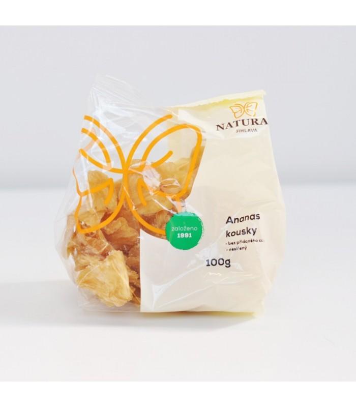 Ananás sušený kúsky