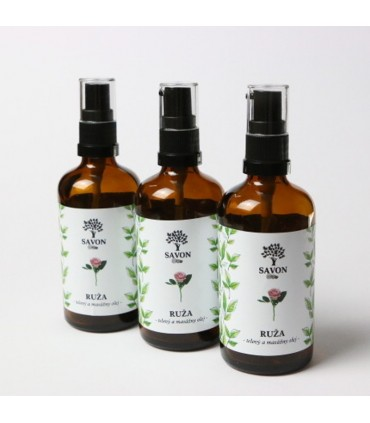 Telový a masážny olej Ruža