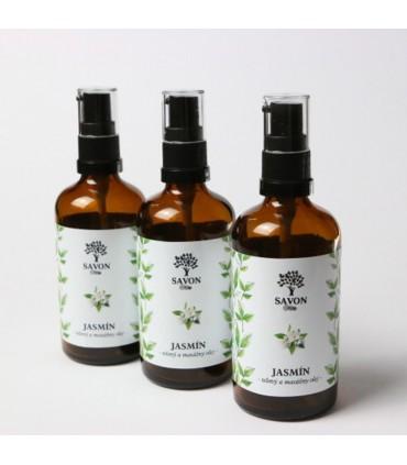 Telový a masážny olej Jasmín