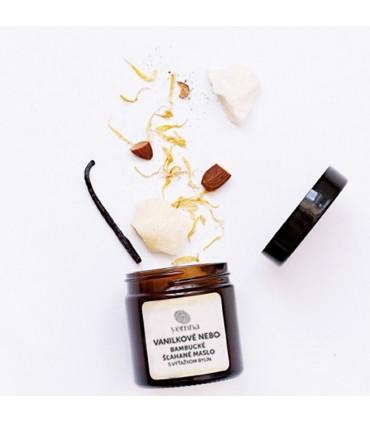 Šľahaný telový krém vanilkové nebo Yemna