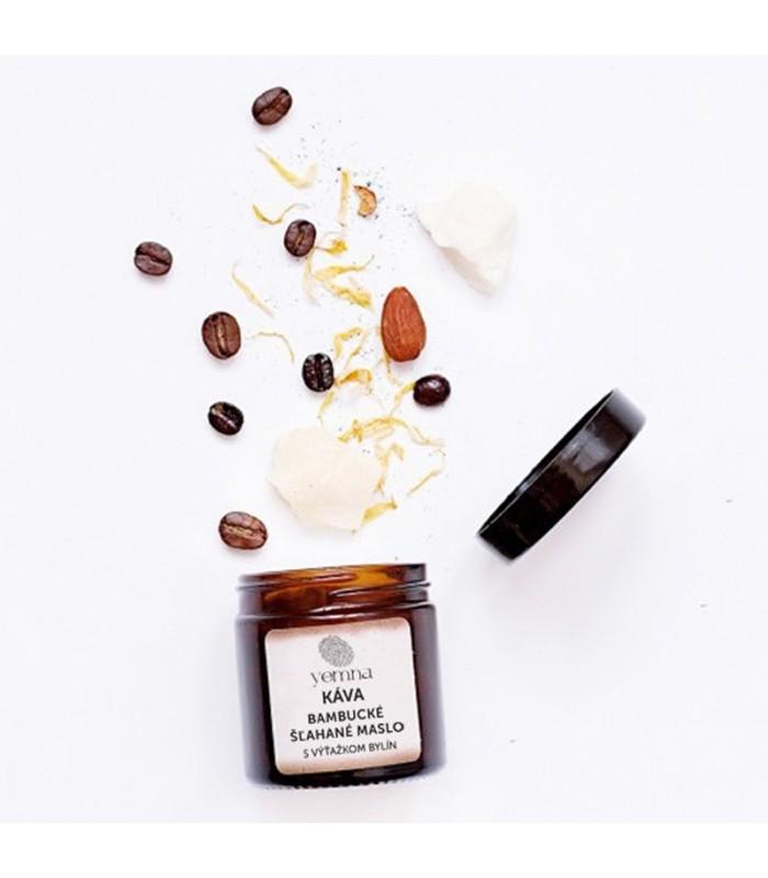 Šľahaný telový krém káva