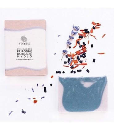 Uhlové mydlo s marockou lávou