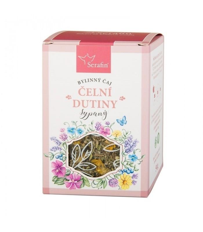 Čelové dutiny - bylinný čaj