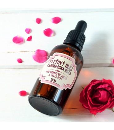 Pleťový olej Čarokrásna ruža