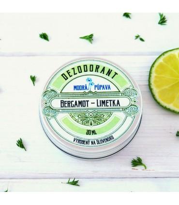 Deodorant Bergamot - Limetka