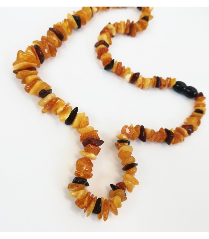 Detský jantárový náhrdelník n355