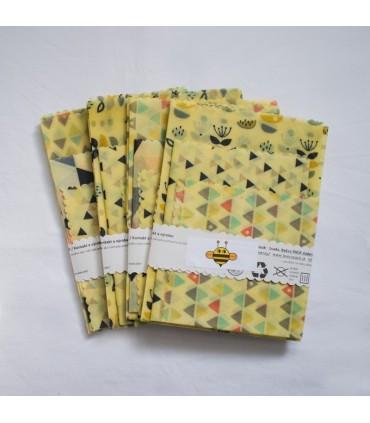 Sada voskových obrúskov (3ks)
