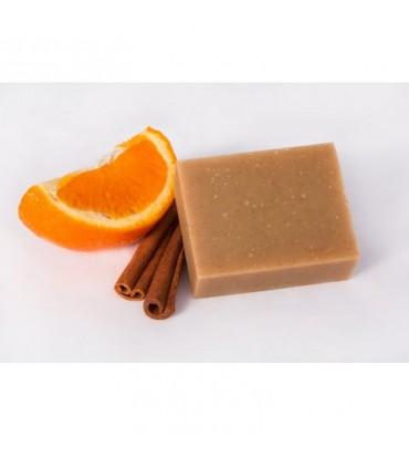 Mydlo z kozieho mlieka Škorica a pomaranč