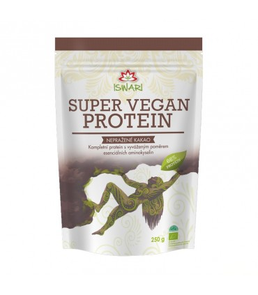 Super vegan proteín, nepražené kakao