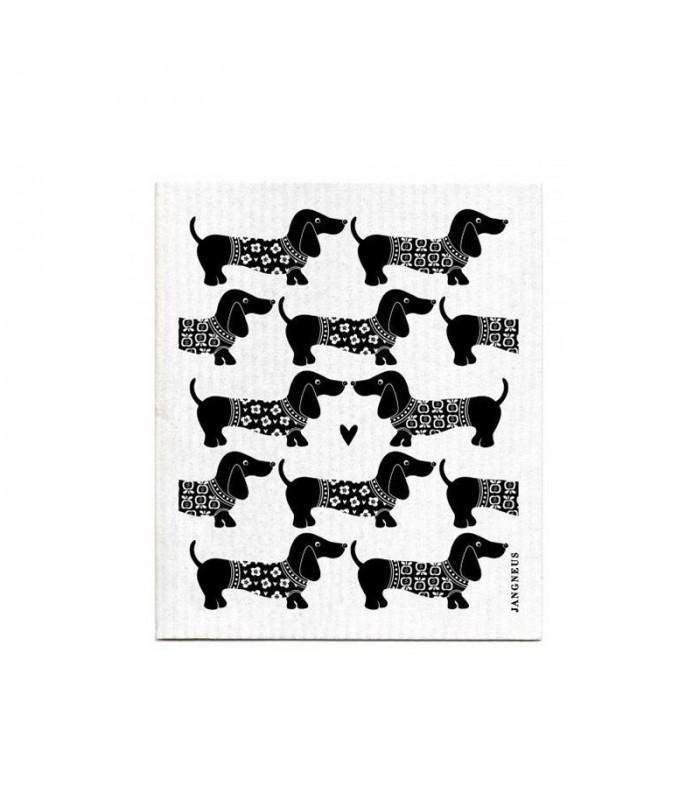 Bezodpadová hubka - psíky