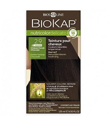 Farba na vlasy Biokap tmavý čokoládový gaštan 2.9