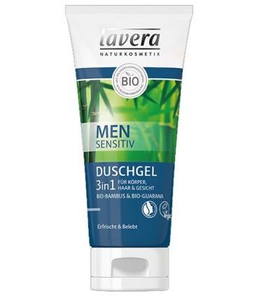 Sprchový gél Lavera pre mužov 3v1