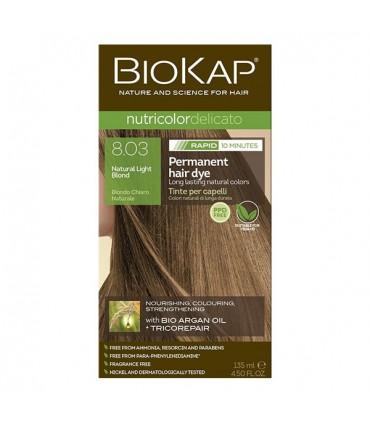 Farba na vlasy Biokap RAPID svetlý blond 8.03