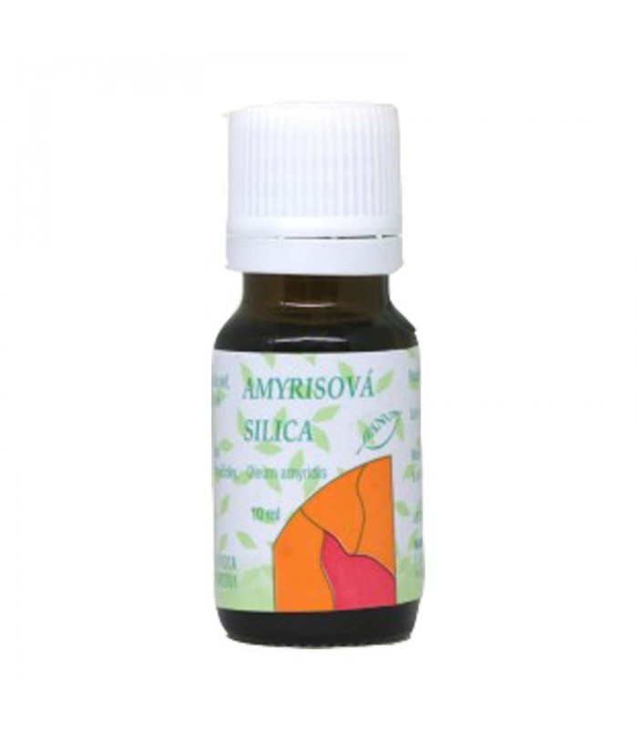 Amyrisová silica, éterický olej