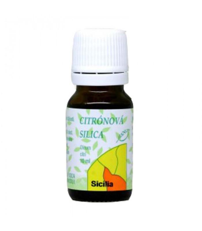 Citrónová silica, éterický olej