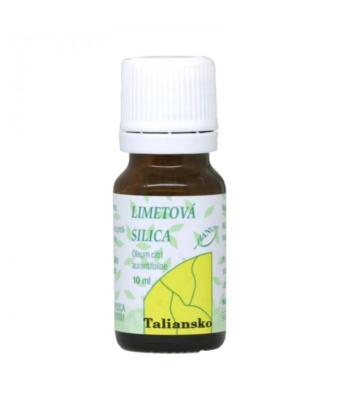 Limetová silica, éterický olej