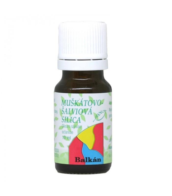 Muškátovo-šalviová silica, éterický olej