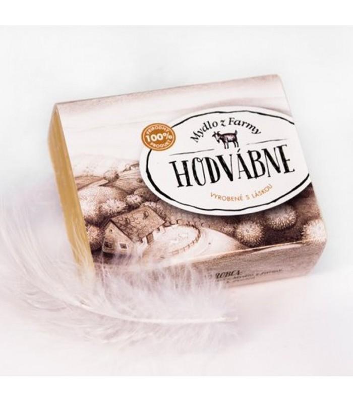 Čisté hodvábne mydlo z kozieho mlieka