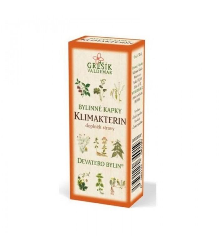 Klimakterin, bylinné kvapky