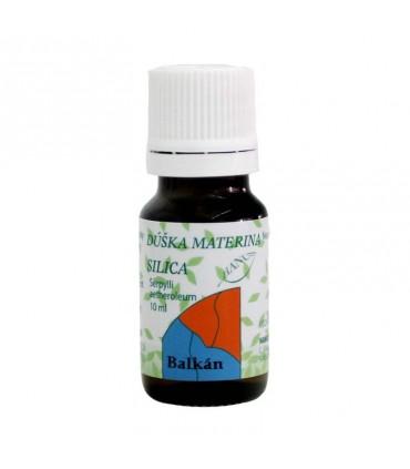 Dúška materina silica, éterický olej