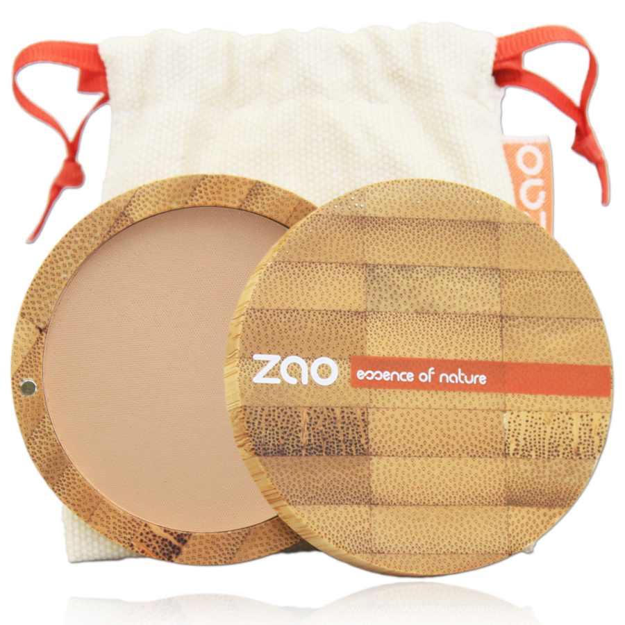 KOMPAKTNÝ PÚDER ZAO - NÁPLŇ 303 brown beige