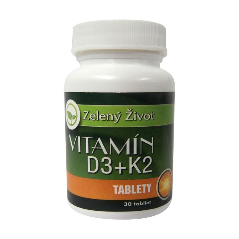 Vitamín D3+K2 30 tbl.