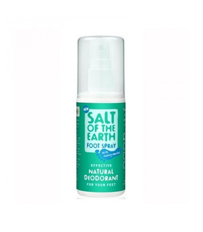 Deodorant sprej Soľ Zeme na nohy