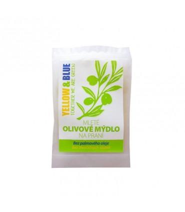 Mleté olivové mydlo na pranie