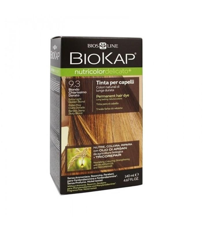 Farba na vlasy Biokap zlatá blond 9.3