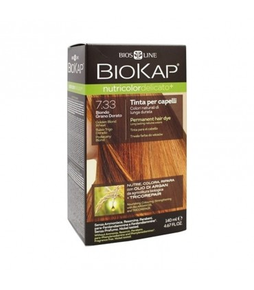 Farba na vlasy Biokap pšeničný blond 7.33