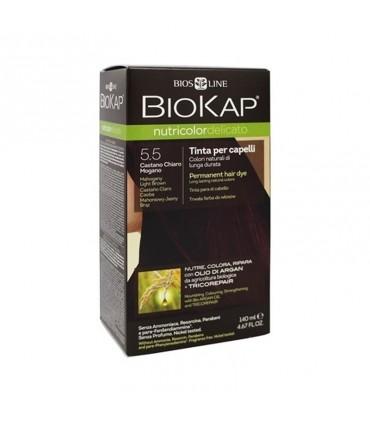 Farba na vlasy Biokap Nutricolor Delicato 5.5 Mahagónová svetlá hnedá