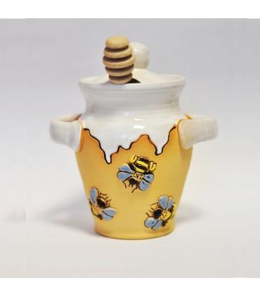 Nádoba na med stekaná, rôzne farby
