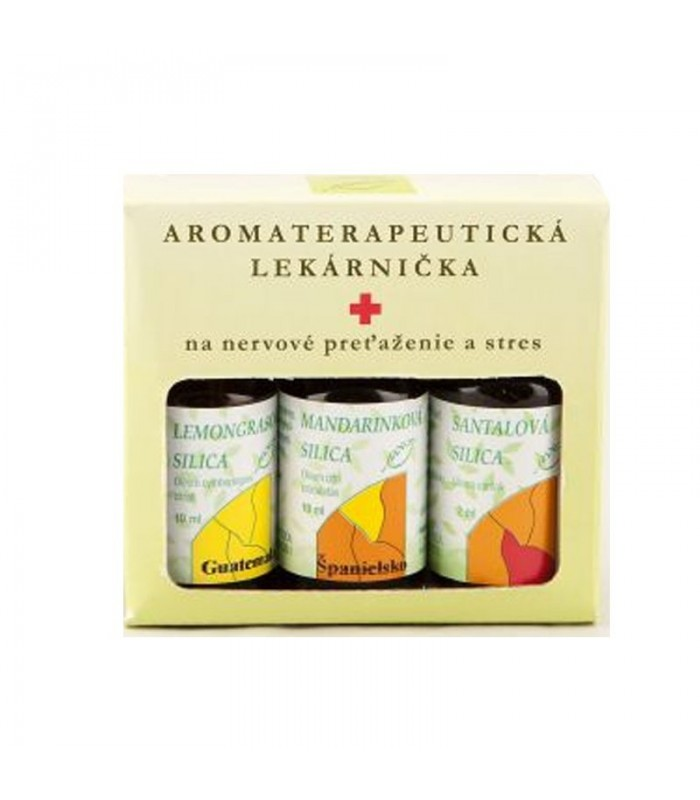 Aromaterapia na nervové preťaženie a stres