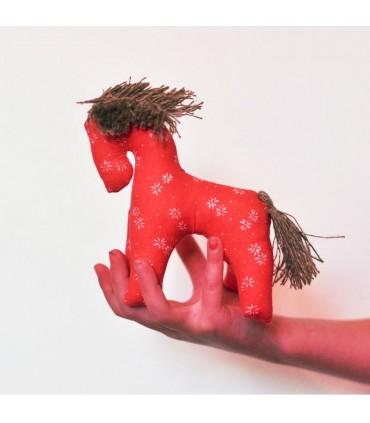 Koník - textilná hračka