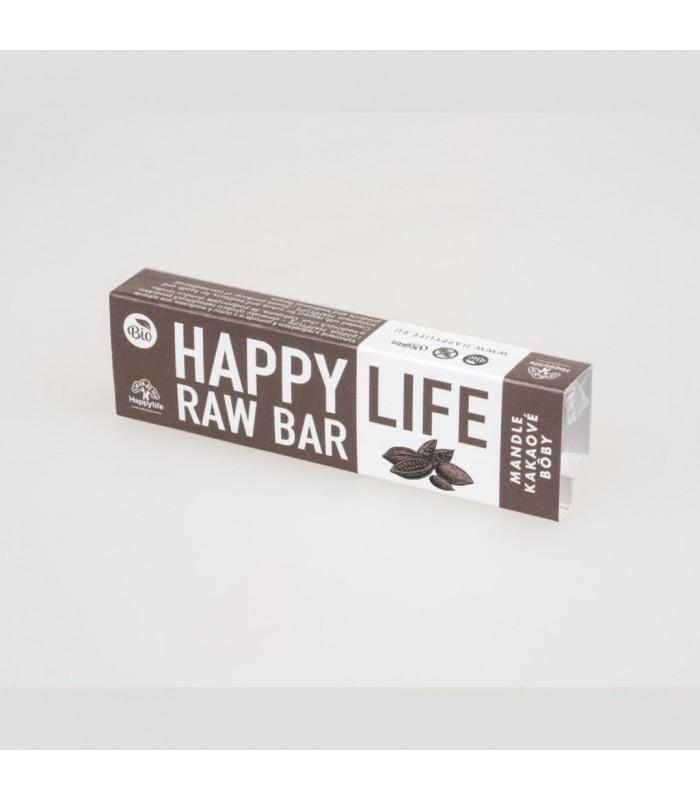 Happy life tyčinka Mandle a kakaové bôby
