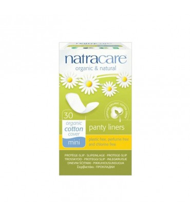 Hygienické slipové vložky Natracare Mini