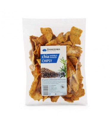 Chia chipsy s rozmarínom