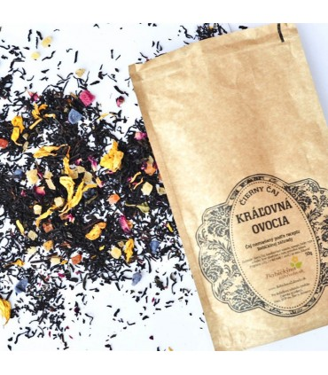 Čierny čaj Kráľovná ovocia