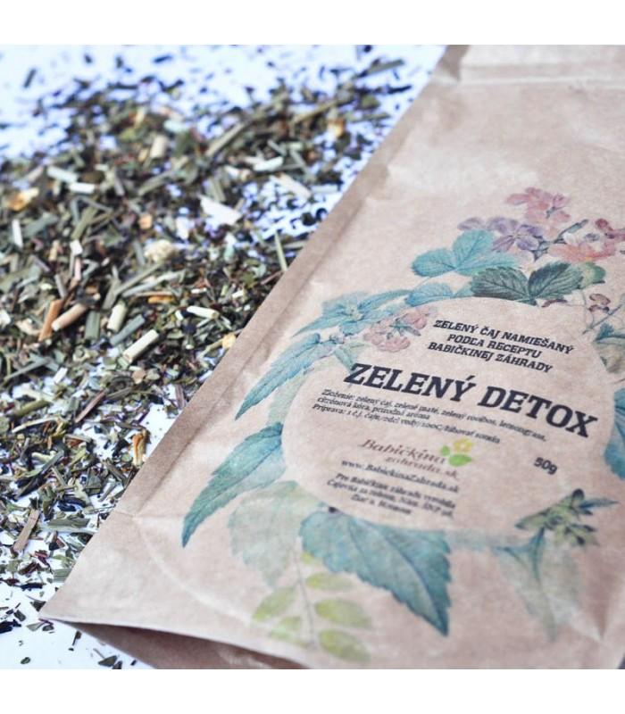 Zelený čaj Zelený detox