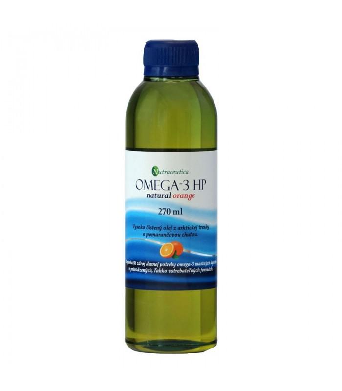 Rybí olej, príchuť pomaranč