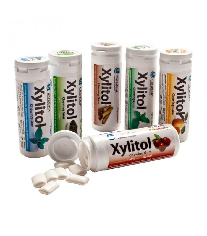 Xylitolové žuvačky, rôzne príchute škorica