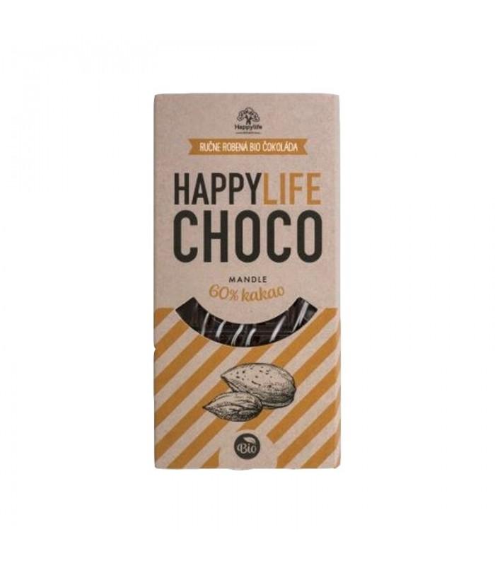 Čokoláda Happy Life Choco s mandľami