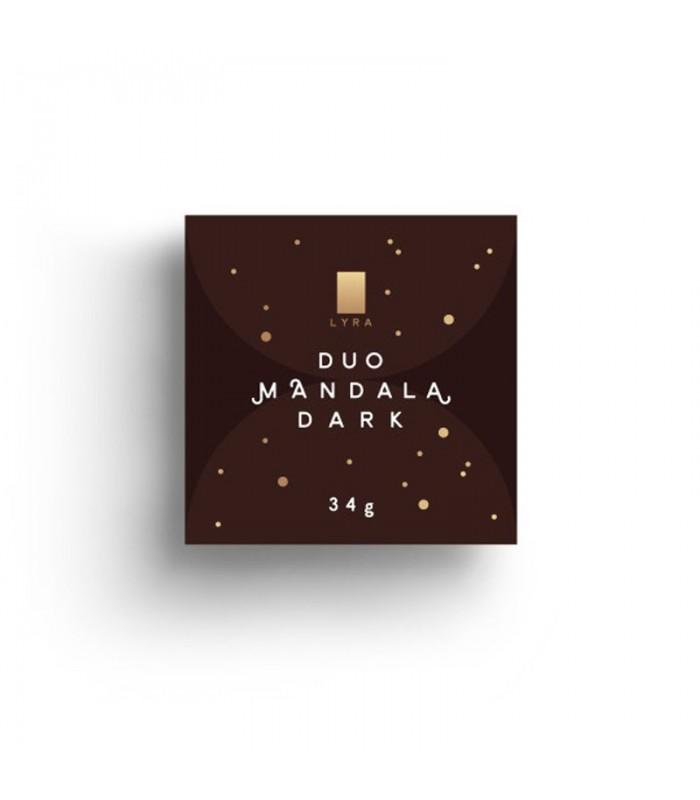 Mandala-dark-čokolada-lyra