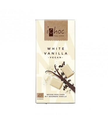 Biela ryžová čokoláda iChoc